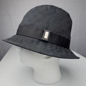 Vintage Men's Genuine Gucci Bucket Hat - XL